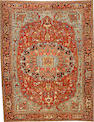 A Heriz carpet  Northwest Persia size approximately 9ft. 6in. x 12ft. 4in.