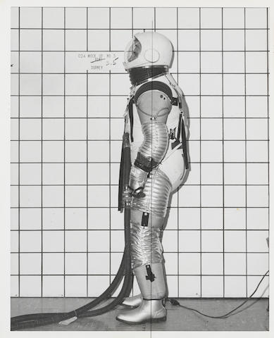 SPACE SUIT DEVELOPMENT PHOTOGRAPHS.