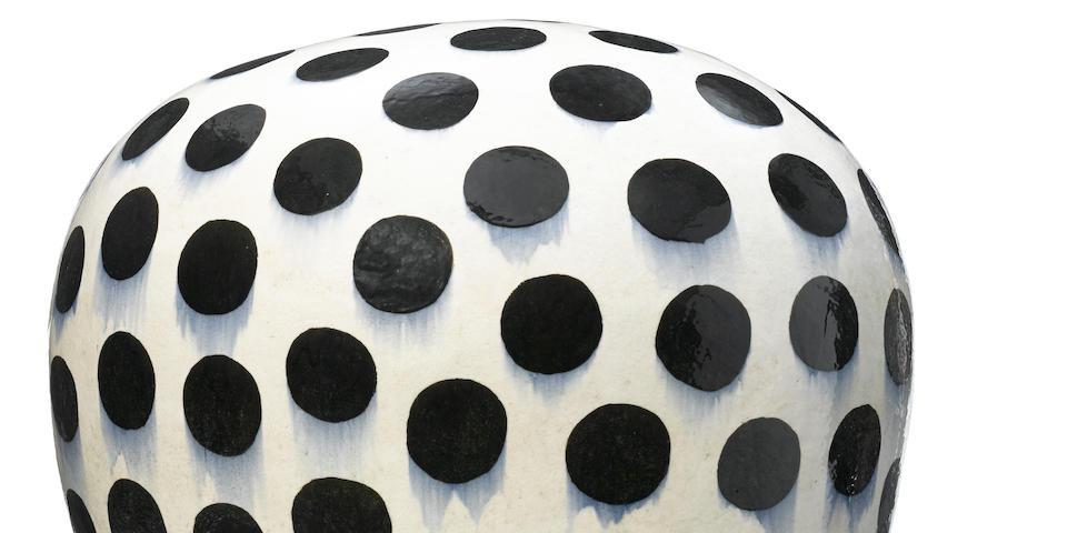 Jun Kaneko (Japanese, born 1942) (Untitled) Dango, circa 1990