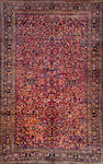 A Kerman carpet  South Central Persia size approximately 18ft. 9in.x 11ft. 10in.