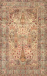 A Lavar Kerman rug  South Central Persia size approximately 4ft. 7in. x 7ft. 3in.