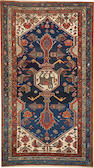 A Hamadan rug  Central Persia size approximately 3ft. 4in. x 6ft.
