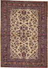 An Indian rug  India size approximately 3ft. 6in. x 4ft. 10in.