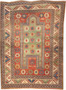 A Kazak rug  Caucasus size approximately 3ft. 11in. x 5ft. 5in.