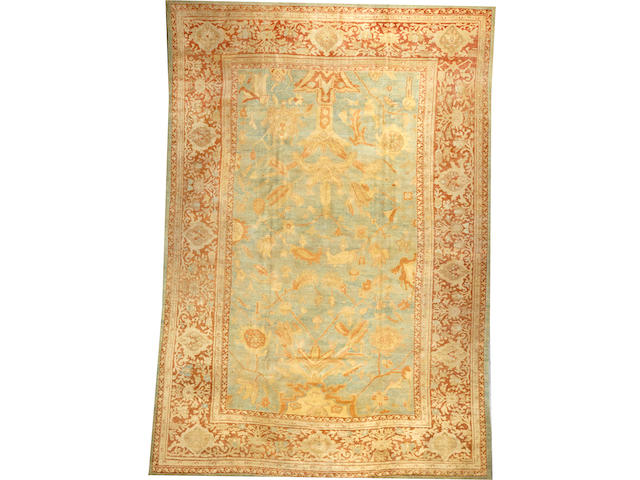 A Sultanabad carpet  Central Persia size approximately 11ft. x 16ft.