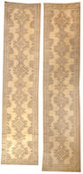 A Pair of Oushak runners  West Anatolia size approximately 4ft. 8in. x 20ft.