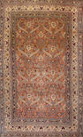 A Khorasan carpet  Northeast Persia size approximately 10ft. 2in. x 16ft. 6in.