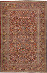 A Kashan rug Central Persia size approximately 4ft. 6in. x 6ft. 11in.