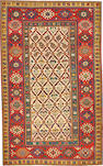 A Kazak rug  Caucasus size approximately 4ft. 10in. x 7ft. 1in.