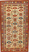 A Shirvan rug  Caucasus size approximately 3ft. 10in. x 6ft. 6in.