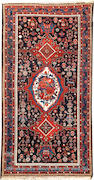 A Bakhtiari carpet  Southwest Persia size approximately 6ft. x 11ft. 9in.