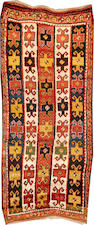 A Turkish runner  Turkey size approximately 4ft. 5in. x 10ft. 2in.