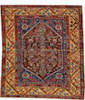 A Turkish rug  Turkey size approximately 4ft. 5in. x 5ft.