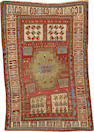 A Kazak rug  Caucasus size approximately 3ft. 10in. x 5ft. 7in.