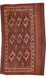 A Tekke rug  Turkestan size approximately 2ft. 6in. x 3ft. 11in.
