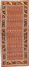 A Kurdish runner  Northwest Persia size approximately 4ft. 8in. x 10ft. 9in.