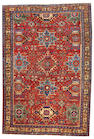 A Heriz rug  Northwest Persia size approximately 6ft. 2in. x 9ft. 1in.