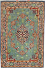 An Isphahan rug  South Central Persia size approximately 2ft. 8in. x 4ft. 1in.