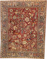 An Isphahan  South Central Persia size approximately 8ft. 4in. x 10ft. 1in.