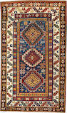 A Kazak rug  Caucasus size approximately 4ft. 2in. x 7ft. 1in.