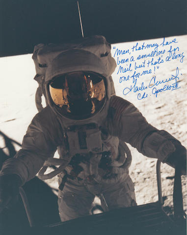 """PETE"" CONRAD'S ONE SMALL STEP – THE NEIL ARMSTRONG QUOTE BET."