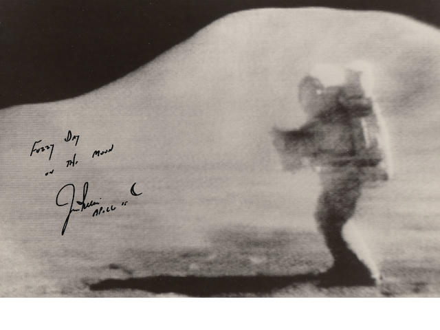 A FUZZY DAY ON THE MOON – SIGNED.