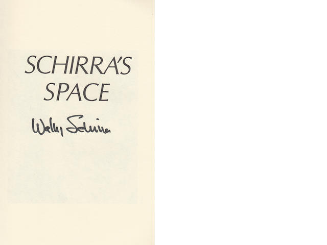 SCHIRRA, WALLY and RICHARD N. BILLINGS. Schirra's Space.
