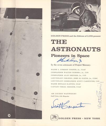 COOPER, L. GORDON, ET AL. The Astronauts, Pioneers in Space.