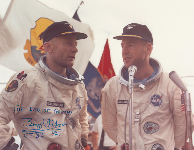 THE ENDING OF THE TEN MANNED FLIGHT GEMINI PROGRAM.