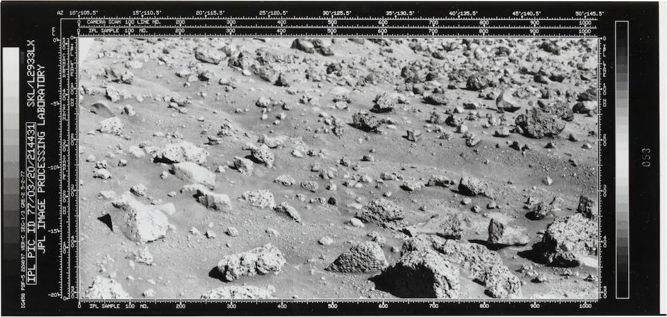 VIKING LANDER II. SURFACE OF MARS.