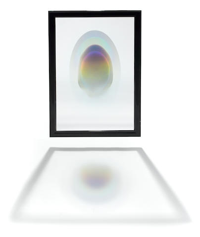 Larry Bell (born 1939) Eclipse on Glass 36 1/2 x 25 x 1 1/2in. (92.7 x 63.5 x 3.8cm)