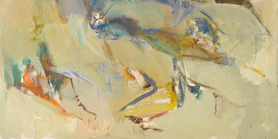 John Altoon (1925-1969) Untitled, 1960 74 x 68in. (188 x 172.7cm)