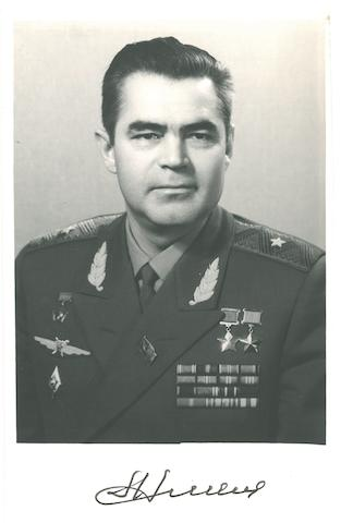 SOVIET COSMONAUTS.