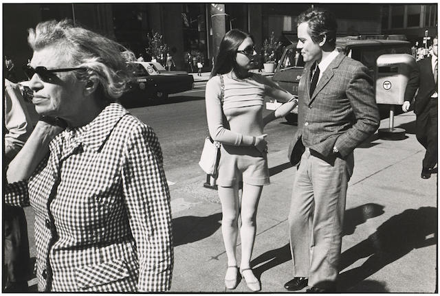 Garry Winogrand (1928-1984); Selected Images, from Women are Beautiful; (3)