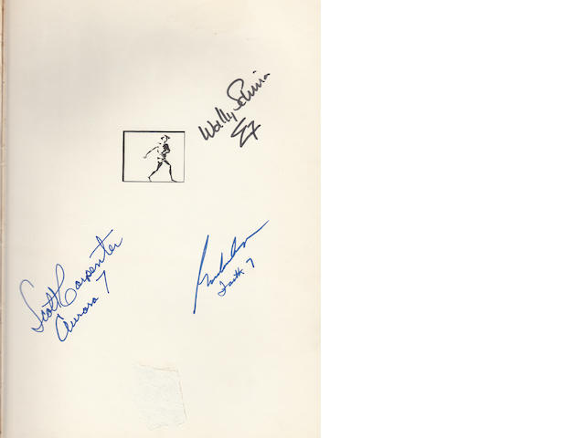 CARPENTER, M. SCOTT, ET AL.  We Seven.  By the Astronauts Themselves.