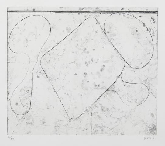 Richard Diebenkorn (1922-1993); Card Game;