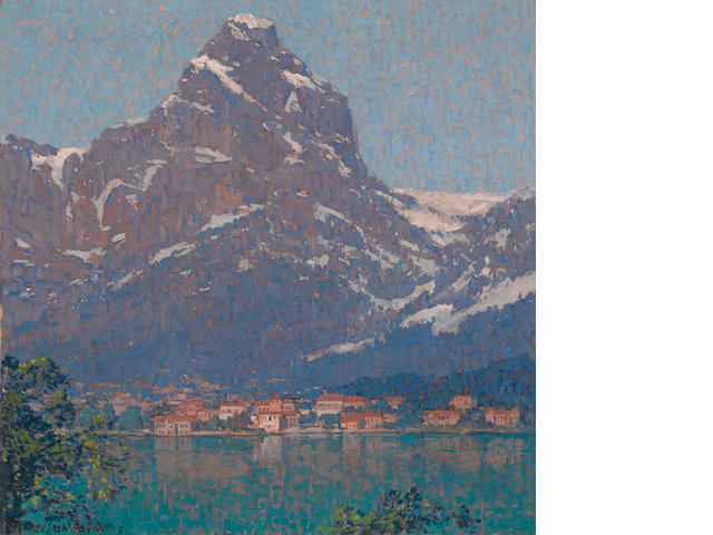Edgar Payne (1883-1947) Lake Lucerne, Switzerland 29 x 29in