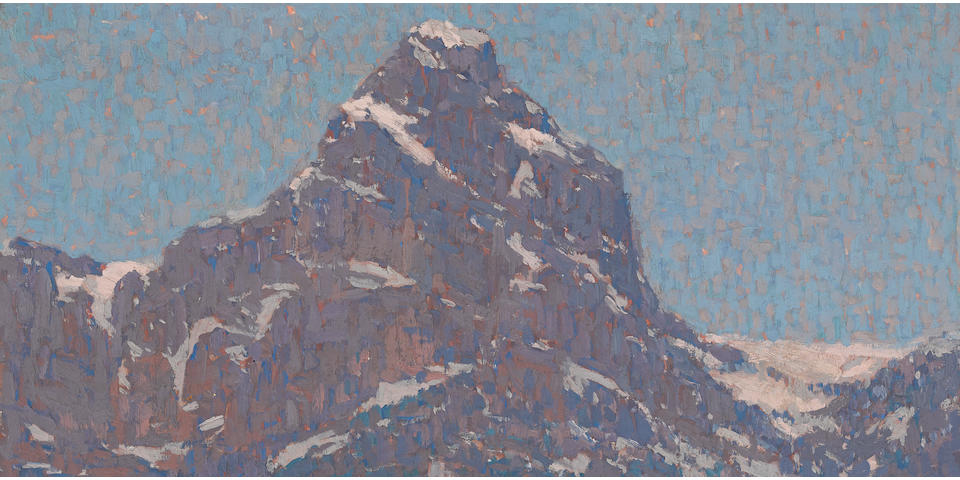 Edgar Payne (1883-1947) Lake Lucerne, Switzerland 29 x 29in