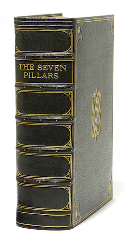 LAWRENCE, THOMAS EDWARD. 1888-1935. Seven Pillars of Wisdom: A Triumph. [London: Printed for the author by Manning Pike and H.J. Hodgson, 1926.]