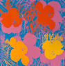 Andy Warhol (1928-1987); Flowers;