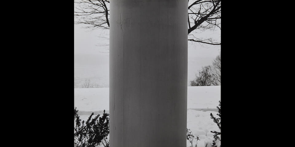 Robert Mapplethorpe (1946-1989); Column, Rhinecliff;