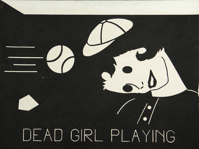 Steve Gianakos (American, born 1938) Dead Girl Playing, 1980 18 x 24in