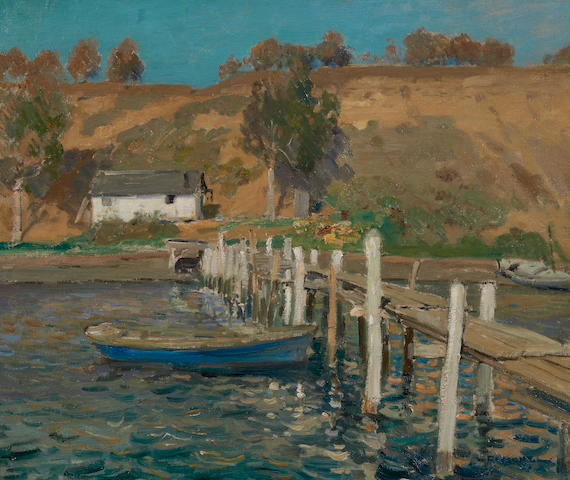 William Frederick Ritschel (American, 1864-1949) Northern California coast 20 x 24in