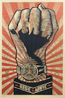Shepard Fairey (American, born 1970); Rise Above;
