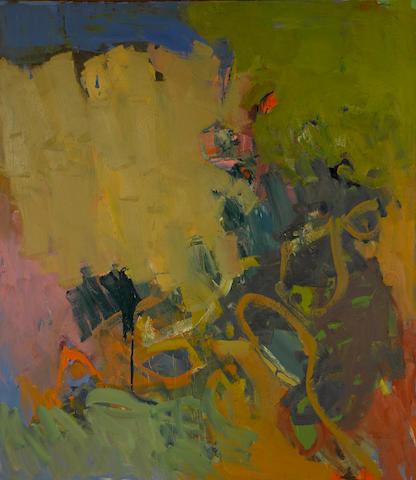 John Altoon (1925-1969) Untitled, circa 1958 66 1/4 x 58 1/4in. (168.3 x 147.9cm)