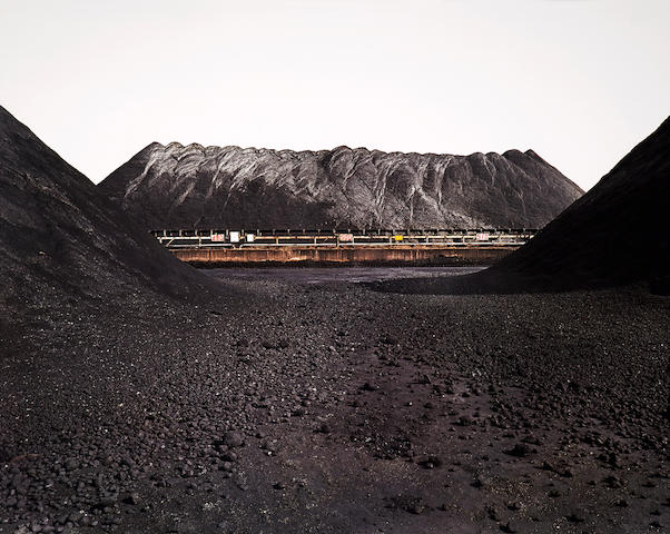 Edward Burtynsky (born 1955); Bao Steel #7, Shanghai, China;