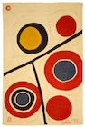 After Alexander Calder (1898-1976); Floating Circles;