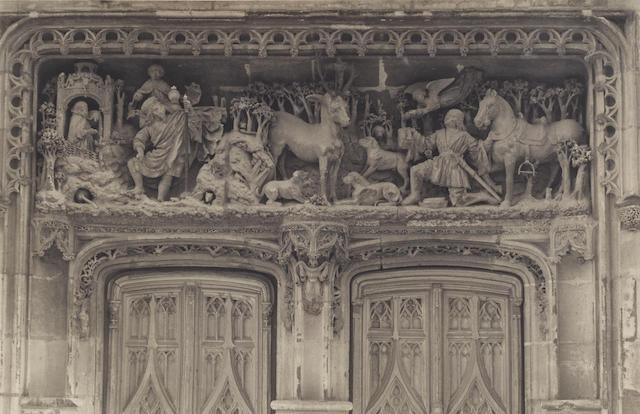 Frederick Henry Evans (1853-1943); Chateau Amboise, Sculpture of Chapel Door;