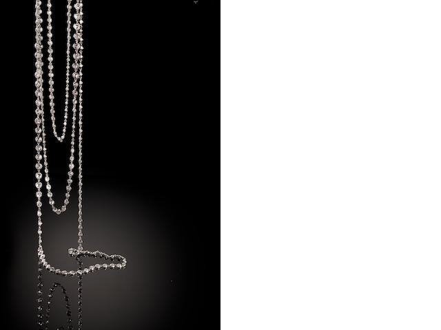 A belle époque diamond longchain,