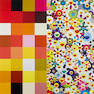 Takashi Murakami (born 1962); Acupuncture/Flowers (Checkers);